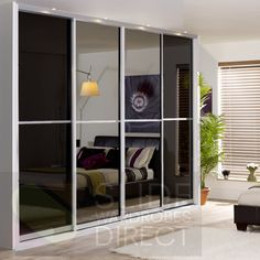 Sliding Door Wardrobes | Mirror Sliding Doors | Slide Wardrobes Direct