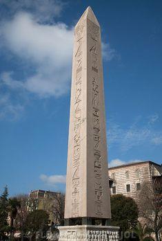 Obélisque de Thoutmosis III à Istanbul
