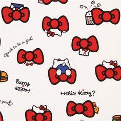 http://www.kawaiifabric.com/en/p8559-white-Hello-Kitty-red-bow-oxford-fabric.html
