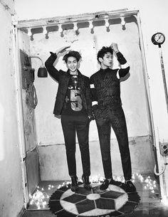 Onew and Minho