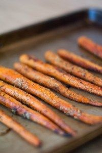 Honey Balsamic Roasted Carrots (AIP, Paleo)