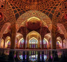 The Pink Mosque in Iran http://www.educateinspirechange.org/2014/03/mosque-beautiful-wait-til-see-happens-sunlight-hits-whoa.html