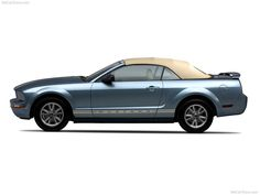 Ford Mustang Convertible - Side, 2005, 800x600, 3 of 3
