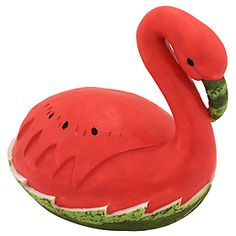 Watermelon Flamingo Figurine