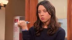 april ludgate - aubrey plaza