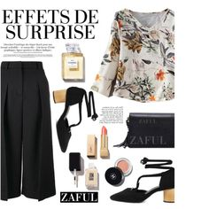 ZAFUL/ http://www.zaful.com/?lkid=8297 by helenevlacho on Polyvore featuring Erdem, Chanel, JINsoon, Yves Saint Laurent, Anja and zaful