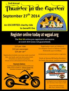 Poker Run, Register Online, Charity