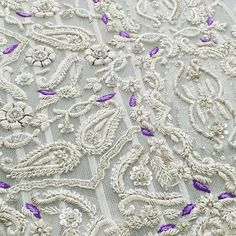 Bridal season continues with its beautifull and intricate embroideries.. #silver and #purple at its best now. #designer #rizwanahmed #bridal #collection #karachi #pakistan #wedding #season #pakistaniwedding #instapic #picoftheday #instalove #lovemywork #zardozi #resham #pearl #valimalook #uk #usa #uae #canada 😍