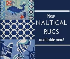 Check out our new collection of C&F nautical rugs! We have now have a great selection to accent a variety of nautical styles and inspirations.