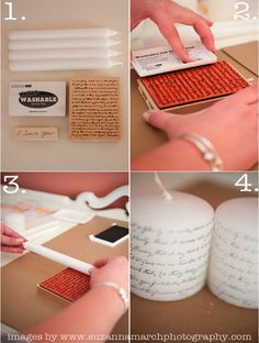 Very cute do it yourself ideas to make for not a lot of money! Some of these would be perfect for my family!