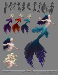 Image result for mermaid concept art