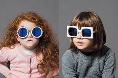 Karen Walker's Eyewear Campaign Uses Kids As Their Models - Child Mode