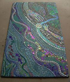 Large mosaic wall art Custom fine art Your Design stained Mosaic Wall Art, Mosaic Glass, Glass Art, Mosaic Mirrors, Sea Glass, Paper Mosaic, Mosaic Designs, Mosaic Patterns, Mosaic Projects