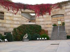 Architect - James Stirling.  Project - the Neue Staatsgalerie .  Location-Stuttgart, Germany.  Date- 1984