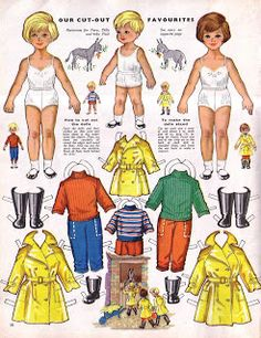 Testing 123: Collecting paper dolls