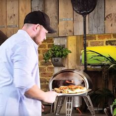 Roccbox can cook stone-baked pizza, sausages, hamburgers and kebabs in less time than it takes to make toast, removing all the frustrations of traditional barbecue. Oven Canning, Pizza Bake, Kebabs, Hamburgers, Charcoal Grill, Sausages, Deli, Mail Online, Daily Mail