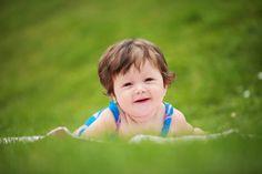 Baby Oil Painting Portrait