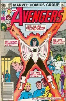 Avengers Vol 1 227 Bronze Age Comic Book. Marvel Comics, Marvel Comic Books, Comic Book Characters, Comic Book Heroes, Marvel Heroes, Marvel Characters, Comic Books Art, Captain Marvel, Marvel Avengers