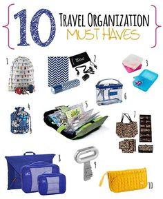 10 travel organization must have..