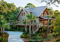 Low Country Home Architecture | Indigo Park - HGTV Dream Home | Lowcountry…