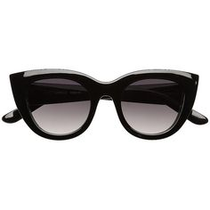 Witchery Luella Cat Eye Sunglasses (70 AUD) ❤ liked on Polyvore featuring accessories, eyewear, sunglasses, glasses, cat eye sunglasses, thick lens glasses, lens glasses, cat-eye glasses and cateye glasses