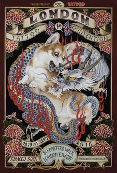 This weekend, September 28 – 30 the world's greatest tattoo convention is going down in London. Convention Tatouage, Tattoo Convention, Tebori Tattoo, Hello London, Tattoo Posters, Tattoo Foto, London Tattoo, Tattoo Shows, September 28