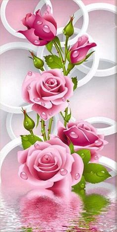 Beautiful Flowers Wallpapers, Beautiful Rose Flowers, Beautiful Nature Wallpaper, Exotic Flowers, Purple Flowers, Rose Flower Wallpaper, Butterfly Wallpaper, Diamond Drawing, Cross Paintings