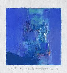 July 11 2016 Original Abstract Oil Painting by hiroshimatsumoto Oil Painting Abstract, Oil Paintings, Japanese Artists, Blue Art, Blue Abstract, Oil On Canvas, Art Drawings, Art Pieces, Art Prints
