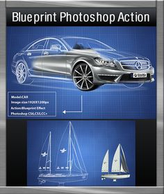 Blueprint Photoshop Action  • Only available here! → https://graphicriver.net/item/blueprint-photoshop-action/17256701?ref=pxcr
