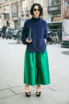 Fashion And Trends Culottes.