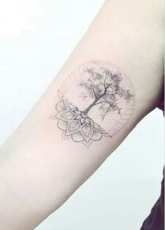 New Pine Tree Tattoo With Roots Beautiful 68 Ideas - Tattoo Style Pretty Tattoos, Beautiful Tattoos, Cool Tattoos, Tatoos, Tattoos Partner, Body Art Tattoos, Small Tattoos, Tattoo Und Piercing, Kreis Tattoo