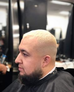 Had to switch it up a bit !!  #Blonde #HighFade #BaldFade #SwitchUp #willtherealslimshadypleasestandup : @no_name_the_barber . . . . . . #westernbarberinstitute #barberschool #barbershop #haircut #menshair #hairstylist #haircare #haircolor #colorist #reseda #vannuys #barberlife #barberstudent