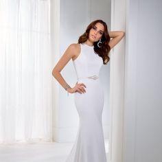 Tea 18255 Social Media Outlets, Modern Fashion, Formal Dresses, Wedding Dresses, Fit And Flare, Tea, Simple, Dresses For Formal, Bride Dresses