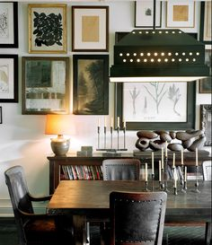 Collect artwork on one topic and suddenly you have a collection. (Interior design tip by @rw2nyc )