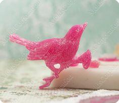 Bird and flowers set scrapbooking flexible von MoldsCorporation