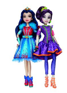 Evie and Mal Neon Lights Disney Descendants Dolls by Hasbro (Coming in 2016)