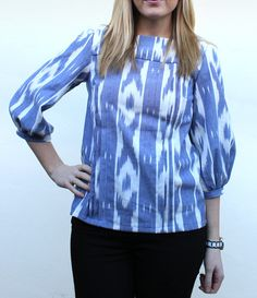 i heart fabric: Tilly and The Buttons - Mathilde Blouse