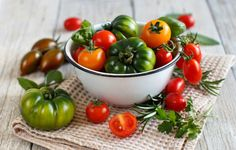 Colorful tomatoes in a bowl by karisamail  IFTTT 500px