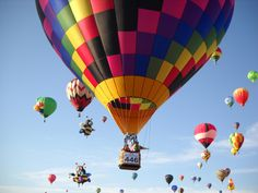 Flying Colours Hot Air Balloons