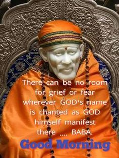 Good Morning Images, Good Morning Quotes, Sai Baba Quotes, Om Sai Ram, Space And Astronomy, Children In Need, Spiritual Quotes, Trust God, Hindi Quotes