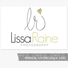 Photography Logo and Watermark Premade by ShannonOyler on Etsy, $40.00