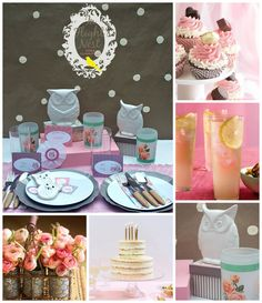 In Flight: Love Owls Party Ideas