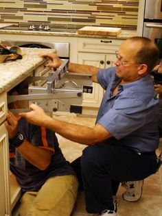 A kitchen mixer takes up a lot of countertop space, so install a cabinet shelf to store it with these simple step-by-step instructions.