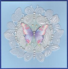 cards made with jane shasky decopage sheets - Google Search