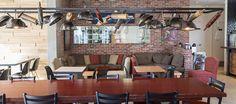 LEMAYMICHAUD   INTERIOR DESIGN   ARCHITECTURE   QUEBEC   Mamie Clafoutis   Restaurant   Bakery Conference Room, Restaurant, Architecture, Table, Furniture, Design, Home Decor, Arquitetura, Decoration Home