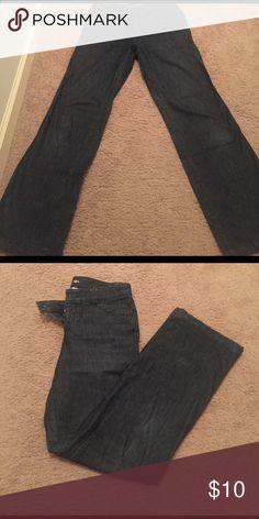 👖WOMANS DENIM 👖 Woman's Docker jeans, dark denim, wider leg, wonderful condition Dockers Jeans Boot Cut