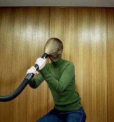 #photo #woman #vacuumcleaner #vacuum #hoover #hair #art #performance #postmodern #jpg #postmodernjpg