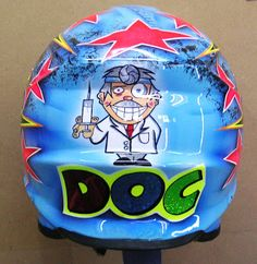 Shoei Motocross Custom Painted Helmet Hand Painted Helmets - Design your helmet today. Valentino Rossi Helmet, Shoei Helmets, Motocross Helmets, Helmet Paint, Vr46, Helmet Design, Dirt Bikes, Motogp, Custom Paint