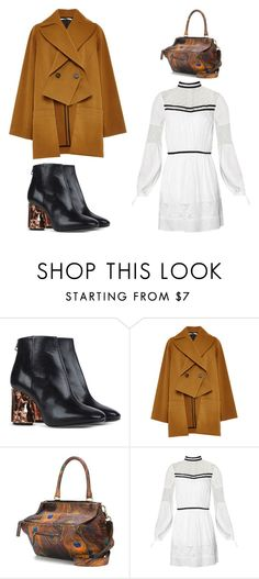 """""""Outfit Idea by Polyvore Remix"""" by polyvore-remix ❤ liked on Polyvore featuring Acne Studios, Rosetta Getty, Givenchy and Topshop"""