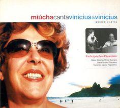 Je voue une admiration sans limite à Vinicius de Moraes et un peu à l'image des reprises des travaux de Tom Jobim, je suis extrêmement friand et attentif à toute nouvelle découverte. Je suis tombé sur ce Miúcha Canta Vinícius e Vinícius qui date de 2004....